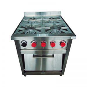 Cocina 4 Platos VCG-4P / VCG-4AI