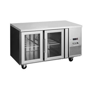 Mesón Refrigerado Puertas de Vidrio 280 Litros VMR2PS-280V - Ventus