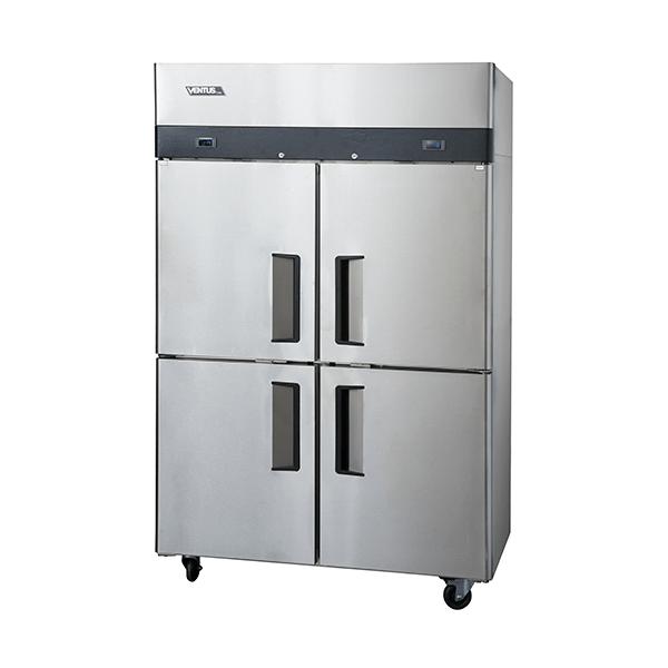 Refrigerador Freezer 4 Puertas Acero Inoxidable VRF4PS-1000 Ventus
