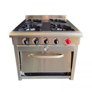 Cocina 4 platos con Horno VCG-4AI