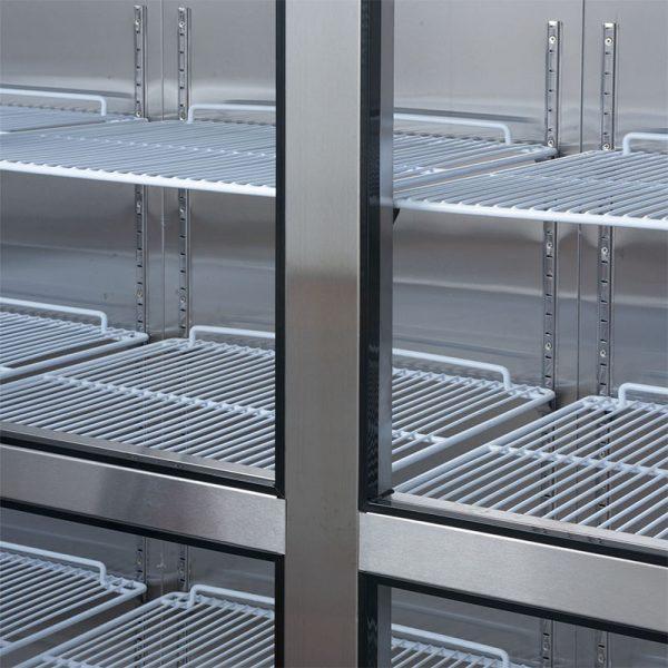 Refrigerador 6 Puertas Acero Inoxidable VR6PS-1400