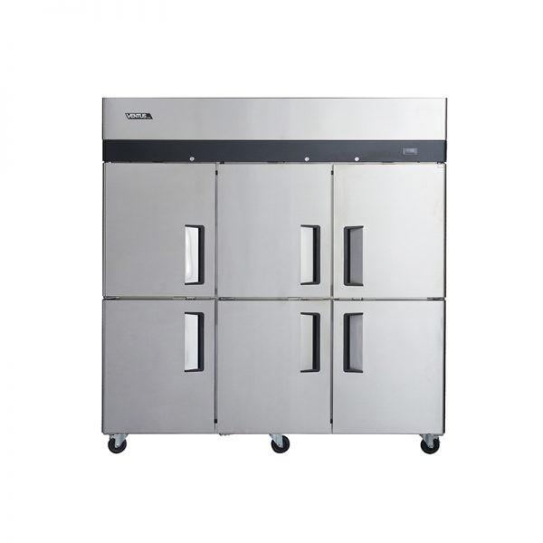 Freezer 6 Puertas Acero Inoxidable VF6PS-1400