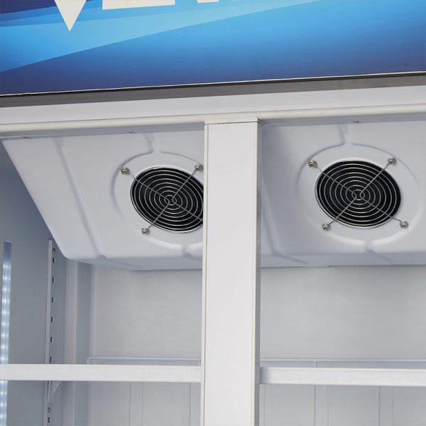 Visicooler 550lts turbo cooling LG-550TC